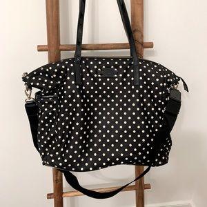 Kate Spade Polka Dot Nylon Diaper Bag